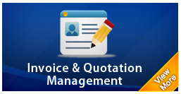 invoice & quotation management system