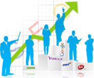 web ranking, website ranking services, web ranking report for google, yahoo!, msn(bing) search engines, website keyword ranking report services in India